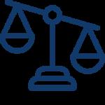 une balance en logo